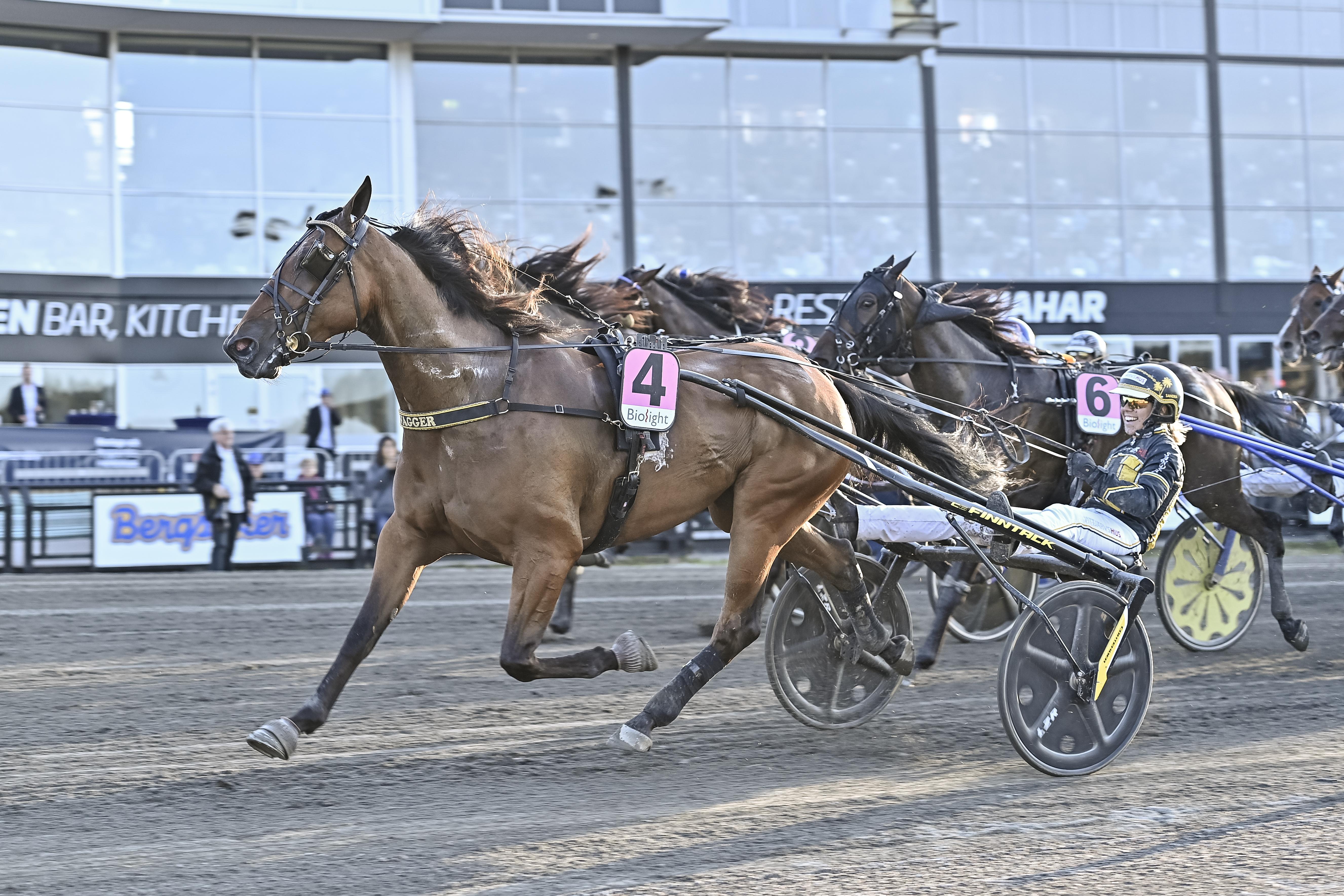 Swagger och Eriksson tog andra V75-segern