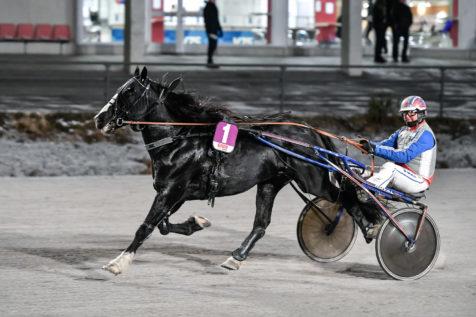 Roger och Jeppe skördade i Umeå