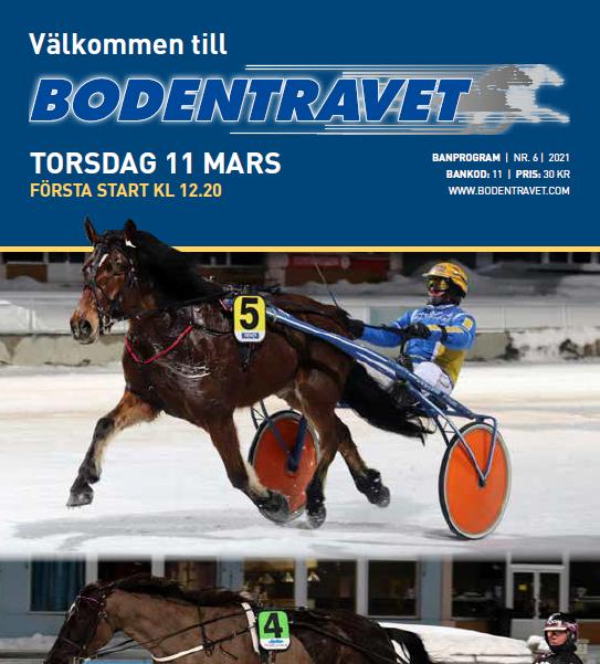 Program 11 mars