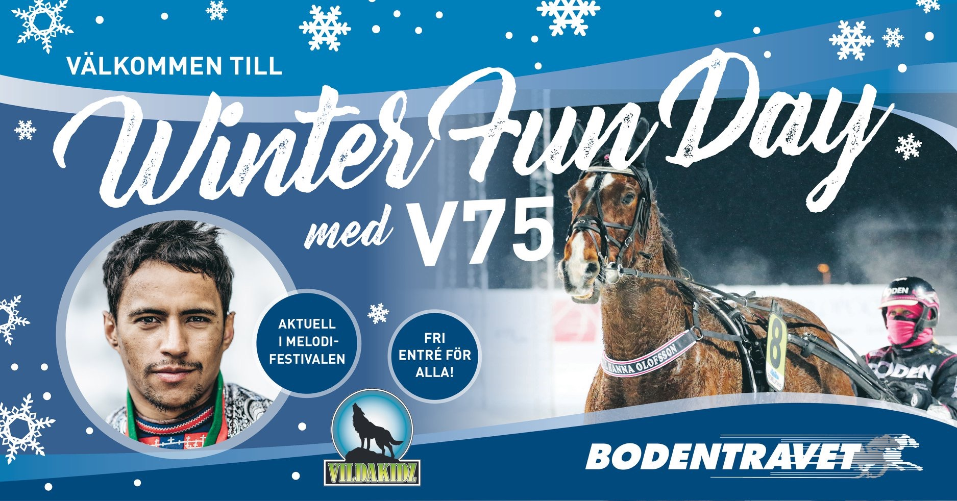 Winter Fun Day med V75