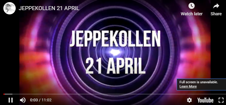 Jeppekollen 21 april