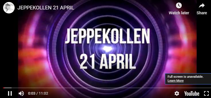Jeppekollen 21 april