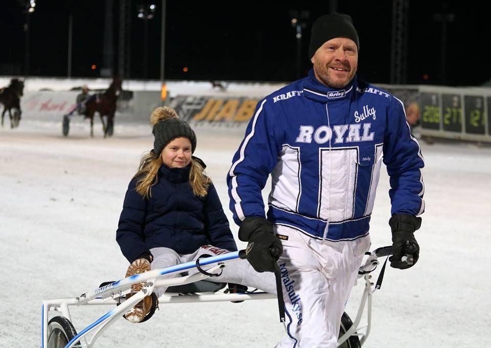 Vinnaren av Royal sulky ponnytravcup